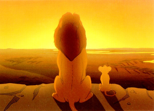 Lion King Simba And Mufasa Everything The Light Touches