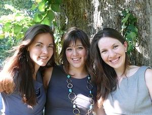 Kathryn Minshew, Melissa McCreery, and Alexandra Cavoulacos