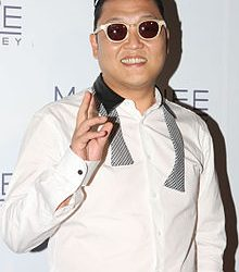 South Korean Artist Psy's Gangnam Style