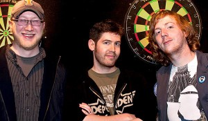 GitHub Founders: Tom Preston-Werner, Chris Wanstrath, and P.J. Hyett