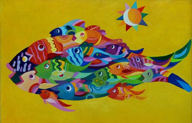 Hamzah Marbella paint