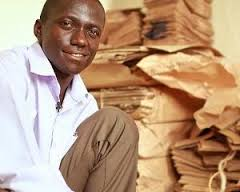 Paper Bag King Andrew Mupuya