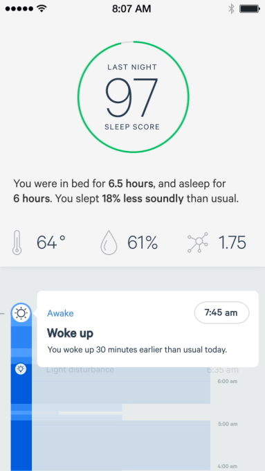 sleep tracking device