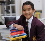 Maths Prodigy Xavier Gordon-Brown