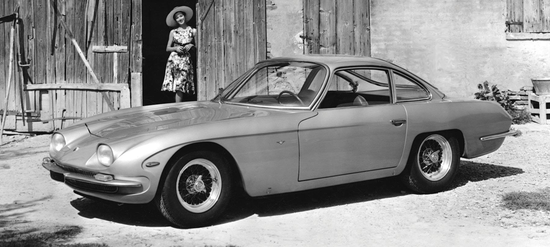 Lamborghini 400 GT. Year: 1964