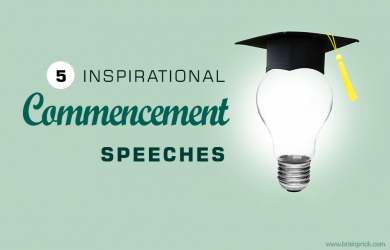 5 inspirational commencement speeches