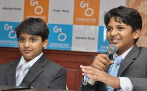 Shravan Kumaran and brother Sanjay Kumaran