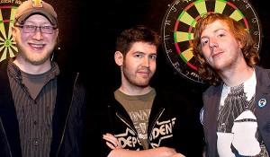 GitHub Founders: Tom Preston-Werner, Chris Wanstrath, and P.J. Hyett