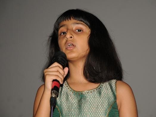 Singing Prodigy Aditi Iyer