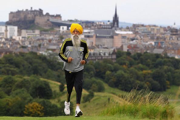 Fauja Singh back in 2012.  Photo Courtesy: ESPN