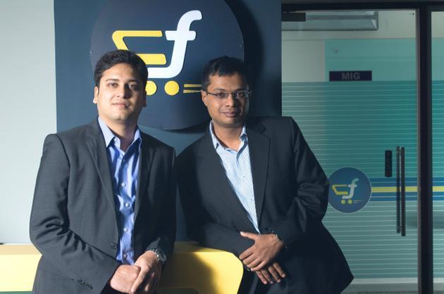 Sachin & Binny Bansal. Photo Courtesy: The Hindu