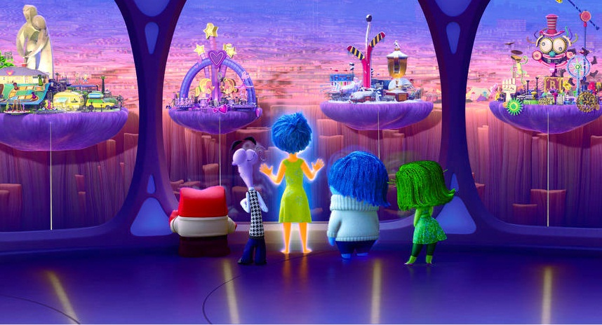 Inside Out - Islands of Personality